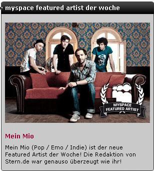 myspacefeaturedmeinmio
