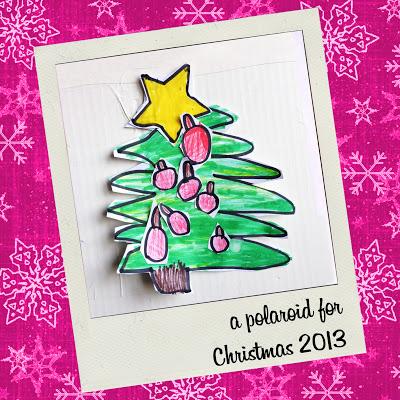 a polaroid for christmas